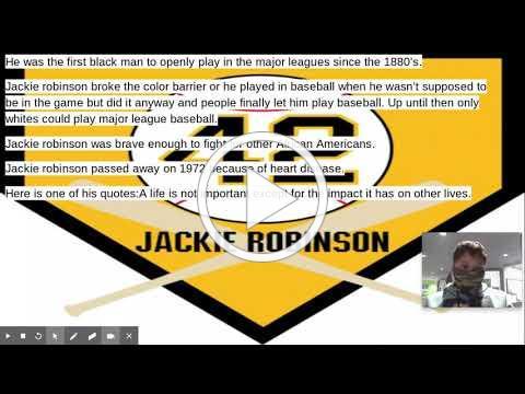 Jackie Robinson video