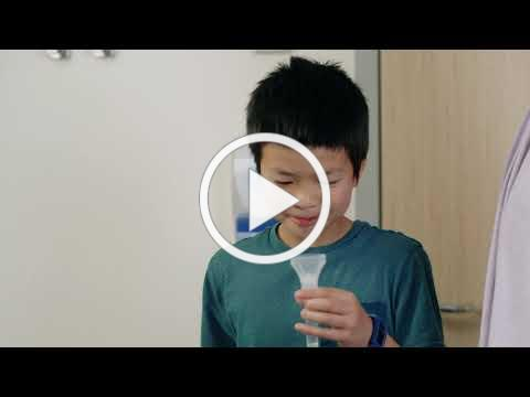 Mouth rinse and gargle COVID-19 test for school-aged children