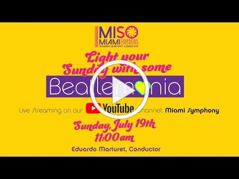 MISO LiveStream CONCERT: Light your Sunday with some Beatlemania