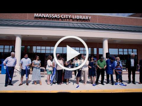 Manassas City Library Ribbon Cutting and Community Event