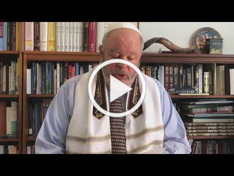Rabbi Gerry Ginsburg Dvar Torah for Yom Kippur Day 5781
