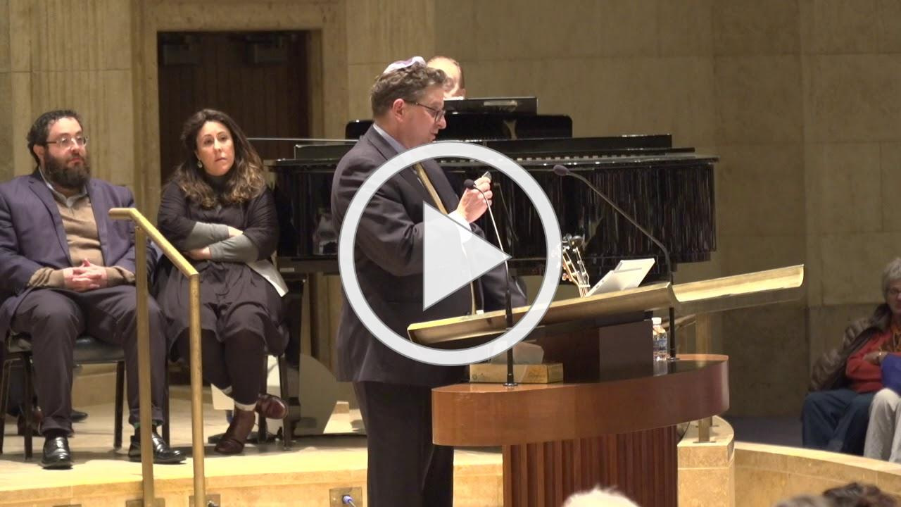 No Fear. No Hate. A community response to Anti-Semitism 1-7-2020 Temple Israel, Minneapolis