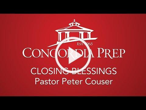 Closing Blessings