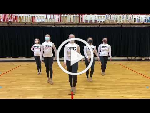 The 20-21 NISD Middle School Dance Team