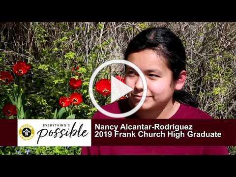 Boise and Beyond - 2019 Graduate Profiles - Nancy Alcantar Rodriguez