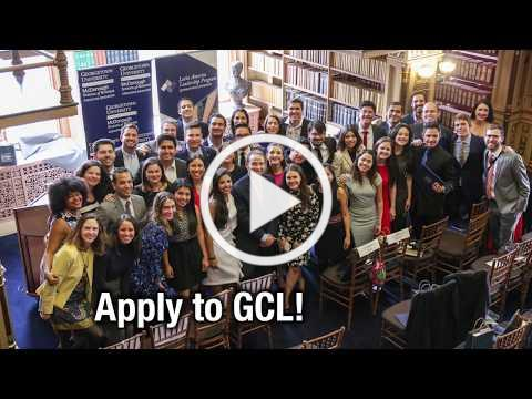 Apply Now to Georgetown University's Global Competitiveness Leadership Program!