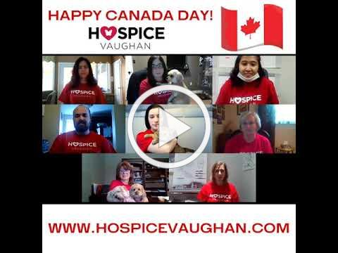 HAPPY CANADA DAY FROM HOSPICE VAUGHAN