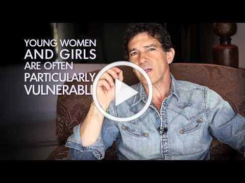 Antonio Banderas - Stop Violence Against Women Now!