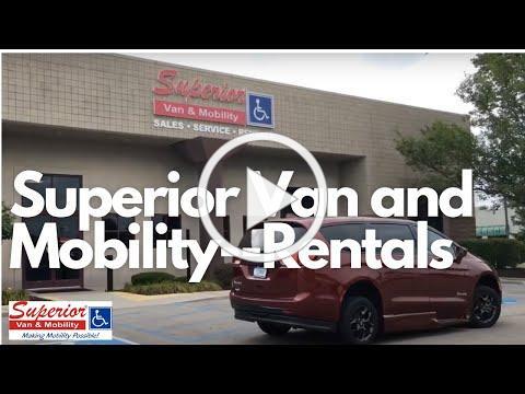 Rental Wheelchair / Handicap Accessible Vans   Superior Van and Mobility