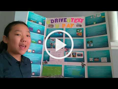 Middle School Student Wins at State STEM Competition