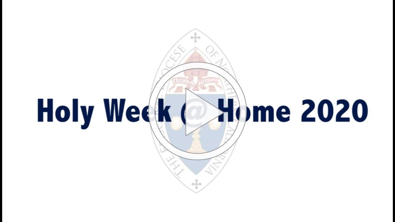 Holy Week @ Home 2020