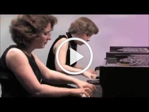 Varshavski-Shapiro Piano Duo at Centennial Twin Pianos, Rachmaninoff, Suite 1 for Two Pianos