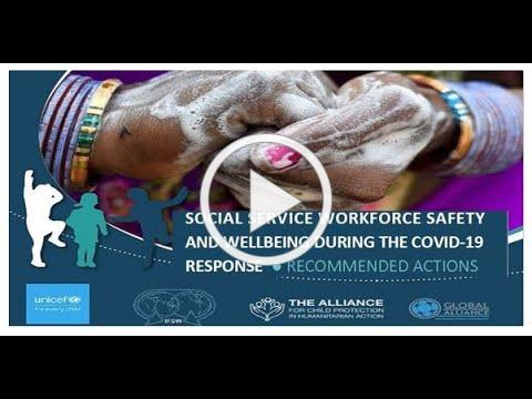 Social Service Workforce Safety and Wellbeing during COVID-19 Response