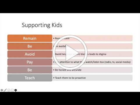 Supporting Kids Mental Health During Covid Webinar Short