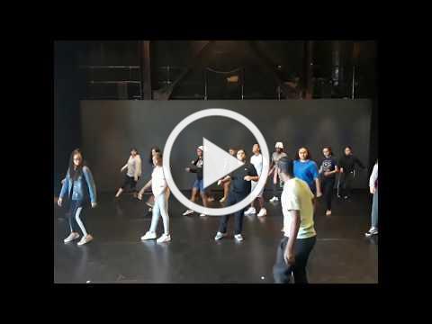 Hip hop dance class- Summer Intensive