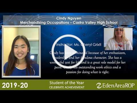 Eden Area ROP Student of the Year Presentation 2019-2020