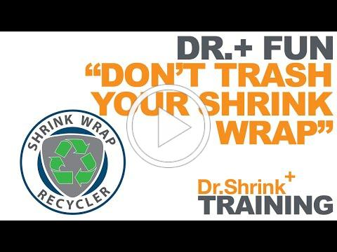 Don't Trash Your Shrink Wrap - Recycling Run 2016 // Dr. Shrink, Inc.