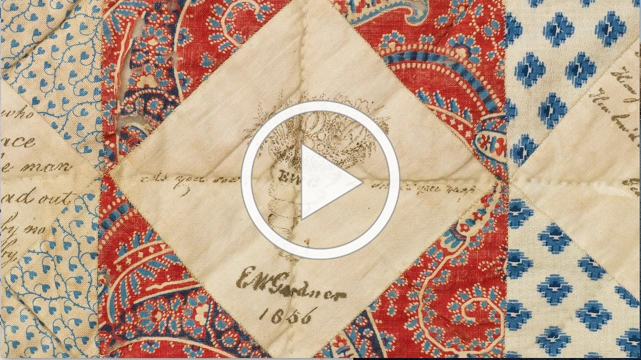 Written in Cloth: Textiles from the Nantucket Historical Association Collection