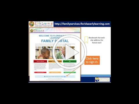 Family Portal - How to Complete the School Readiness Enrollment Process