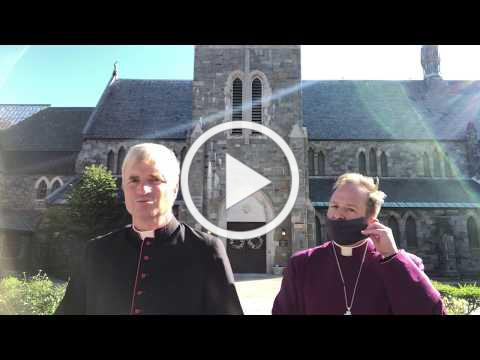 National Day of Mourning Prayers with Bishop Brown and Dean Shambaugh