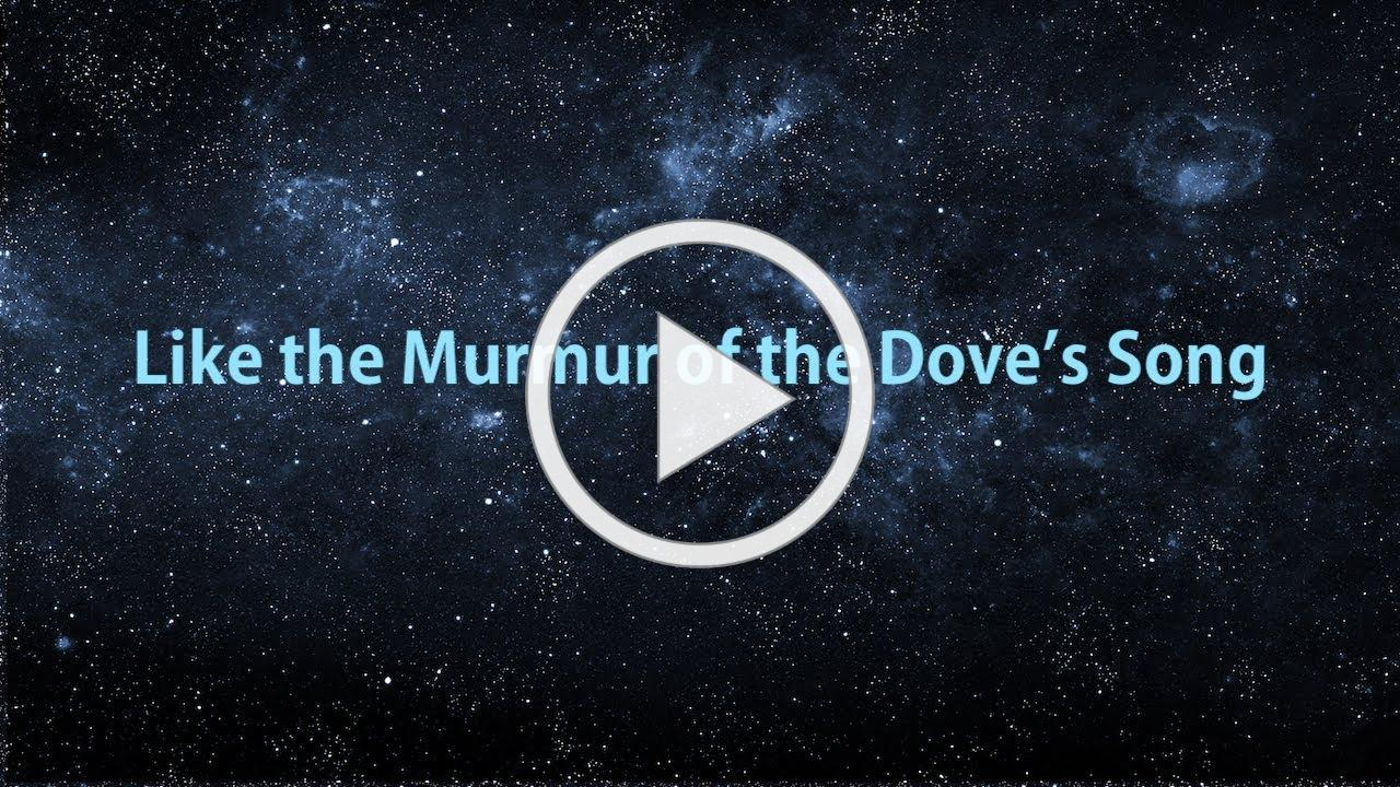 """""""Like the Murmur of the Dove's Song"""" for SSAATB a cappella choir and bell choir"""