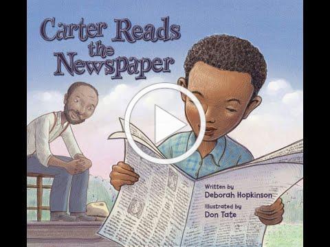 Carter Reads the Newspaper Read-a-loud