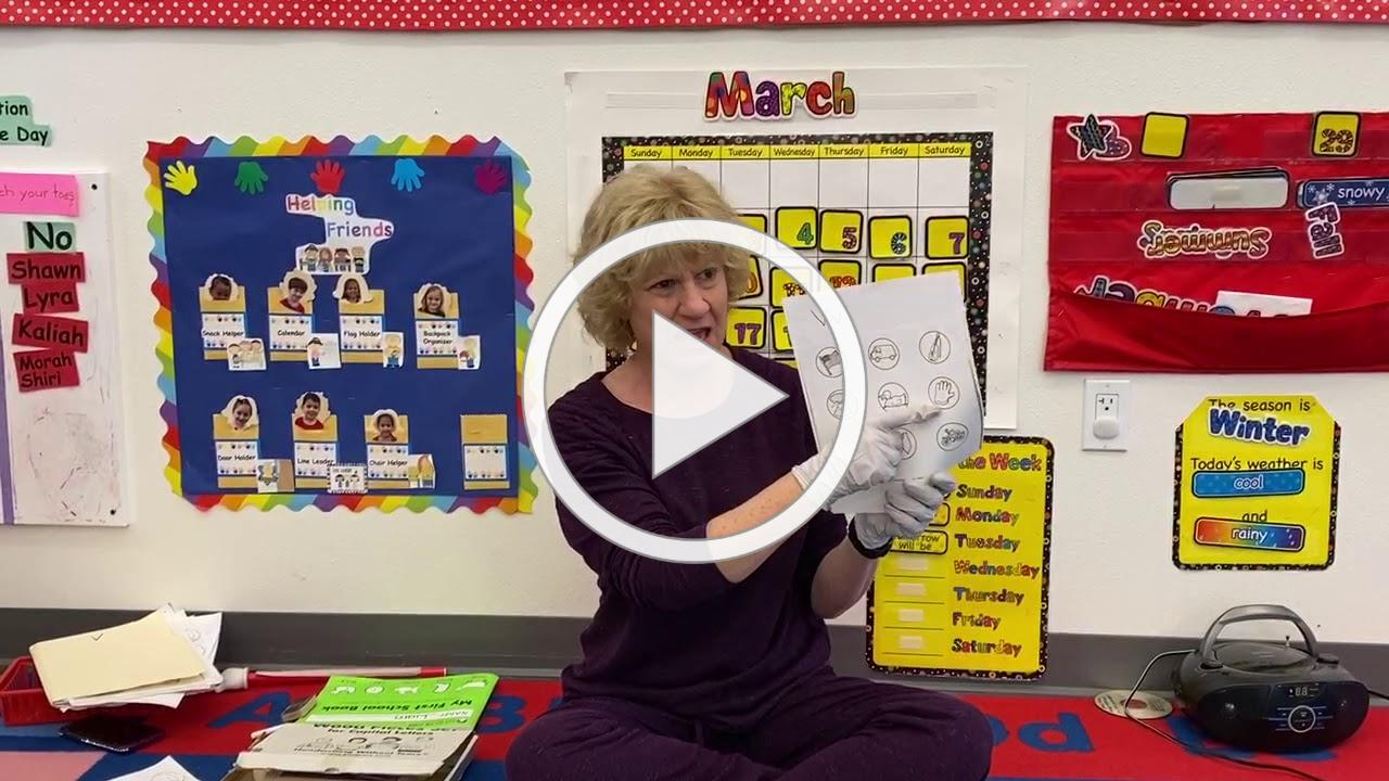 Red Yellow Arieh Letter V Activity