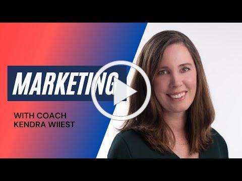 Marketing with Business Coach Kendra Wiiest