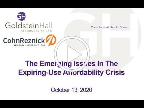 The Emerging Issues In The Expiring-Use Affordability Crisis