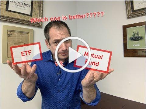 ETF's vs. Mutual Funds: Which one is better?