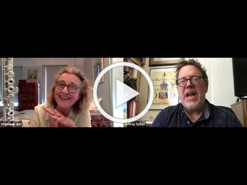 Jeffrey interviews Stephanie