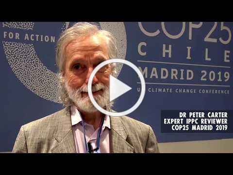 Dr Peter Carter, Climate Speaks from COP25 on 12-14-19
