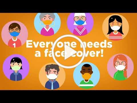 Face Covers On Everyone