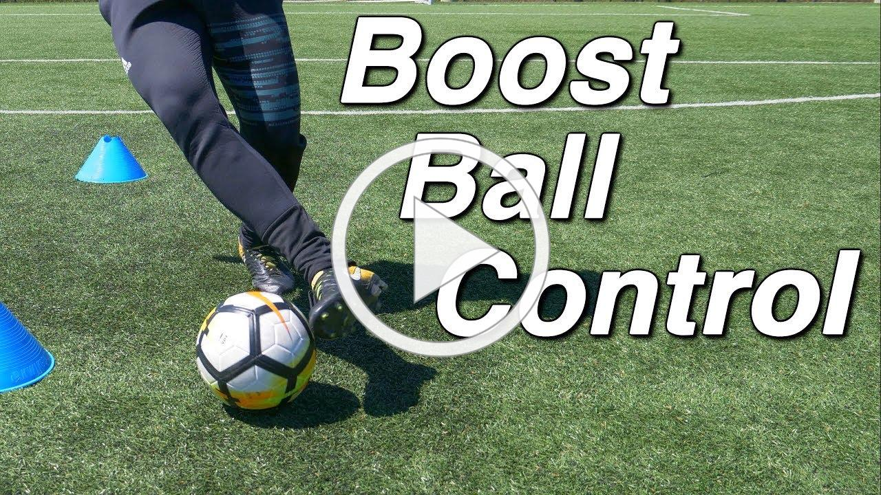 """How to Improve your Dribbling Skills with """"The Figure 8 Soccer Drill"""""""