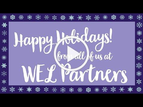 WEL Partners 2020 Holiday Wishes