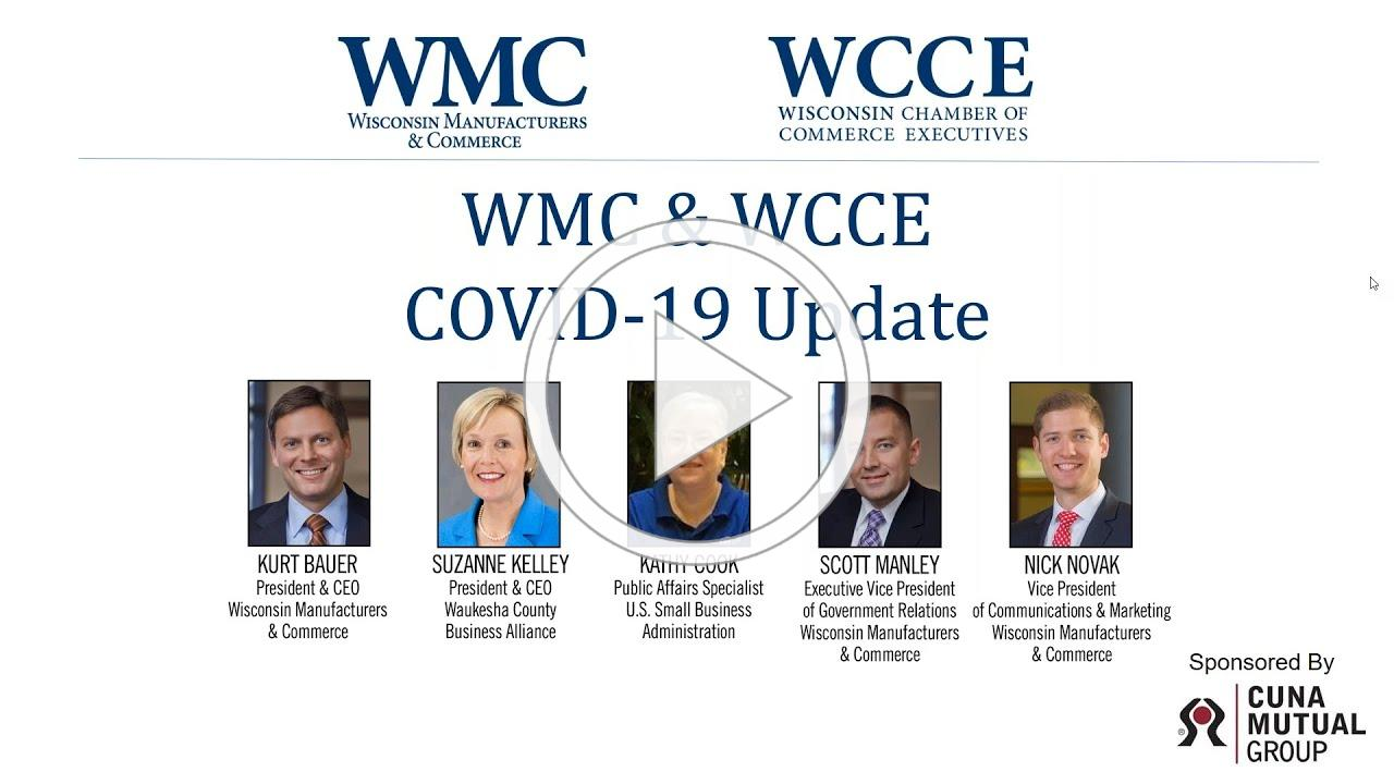 WMC & WCCE COVID-19 Update | Webinar | Small Business Administration | 3-24-2020