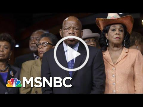 Morgan Freeman Reads Rep. John Lewis' Last Words   The Last Word   MSNBC