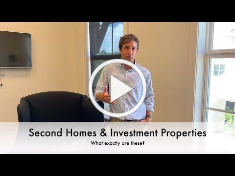 Second Homes & Investment Properties