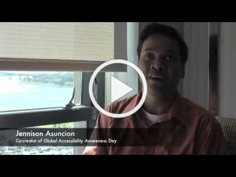 Global Accessibility Awareness Day 2014: Interview with Jennison Asuncion