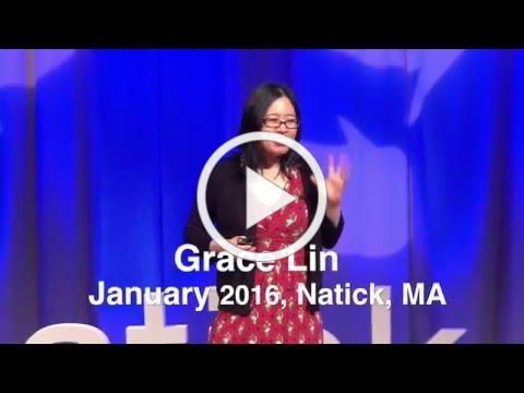 The Windows and Mirrors of Your Child's Bookshelf | Grace Lin | TEDxNatick