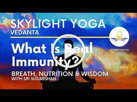 SKYLIGHT YOGA Vedanta | What Is Real Immunity?