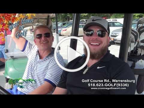 Cronins Golf Resort Fall 2020