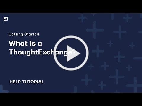 What is a Thoughtexchange?