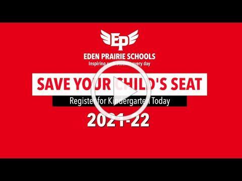 Eden Prairie Schools Kindergarten Events January 2021