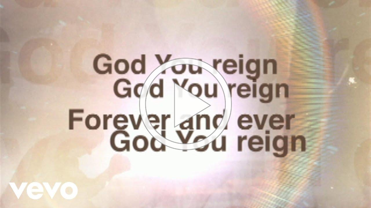 Lincoln Brewster - God You Reign (Lyric Video)