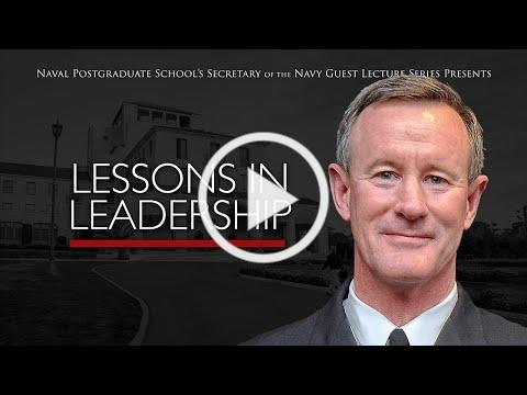 Virtual SGL with Adm. William H. McRaven, USN (ret.) - June 23, 2020