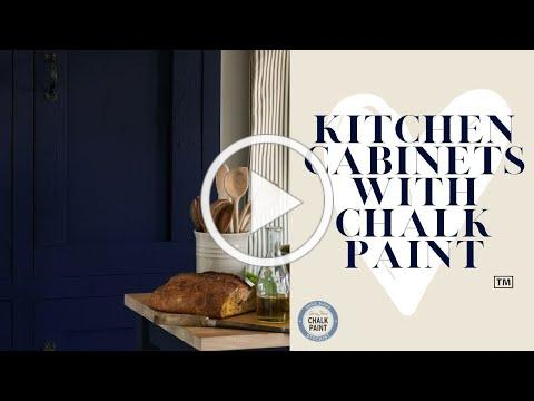Kitchen Cabinets with Chalk Paint ™