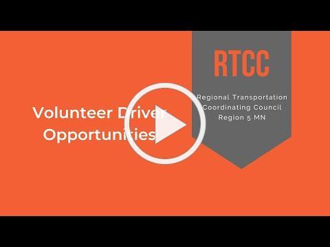 R5RTCC Volunteer Driver Opportunities