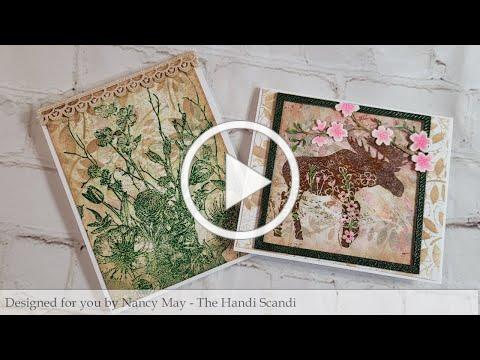 Technique Junkies Mar 2021, Floral Moose - Spring Flowers