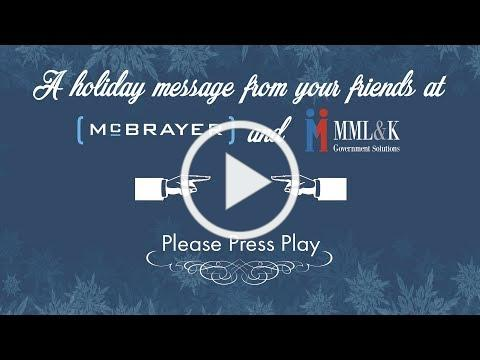 Season's Greetings from everyone at McBrayer!